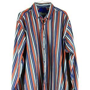 Other - Visconti Mens Dress Shirt Size XL Multi Color
